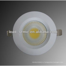 Downlight для домашнего использования 8w LED потолочные светильники COB 3inch 220V