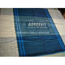 Modacrylic Plaid Travel Blanket (SSB0171)