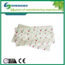 Serviettes non tissées perforées à l'aiguille pratique et durable