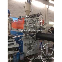 PE corrugated steel pipe making machine