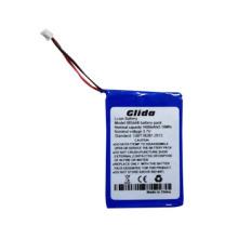 CE ROHS de la batería de la caja de aluminio del Li-ion de 3.7V 1400mAh
