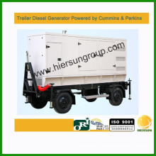 Powered by Cummins Perkins and Volve mobile generator 50kw-500kw