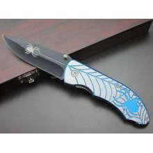Couteau à motif araignée (SE-046)