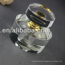 Garrafa de perfume de cristal árabe bonita para a decoração real