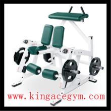 Équipement commercial de gymnastique d'équipement de musculation ISO-latéral jambe de genou Curl