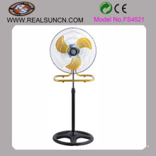 18′′ 2 in 1 Stand and Table Fan With Yellow Blade FS4521