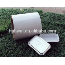 Papier de réservoir d'aluminium en aluminium lubrifié et coloré