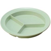 100% Melamine Dinnerware/Melamine 3-Divided Plate (NS701)