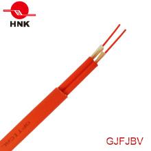Câble à fibre optique plat à l'intérieur de l'intérieur GJFJBV