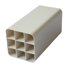 Nine Hole Club Tube Square Environ Polyethylene Electrical Pvc Plastic Pipe Prices