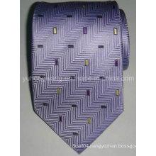 Custom Men′s Silk Woven Jacquard Necktie