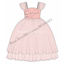 fall hand embroidery designs for girls dress