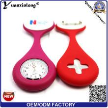 Yxl-290 мода новый дизайн мини престарелых карманные часы Японии movt Кварцевые карманные часы Оптовая продажа фабрики OEM брошь медсестра часы