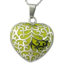 Joyería de la joyería de Enamal Jewellry del corazón amarillo