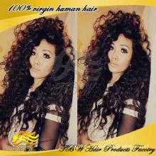 Малайзии Девы волос полный парик шнурка оптовая продажа Нью-Йорк парики