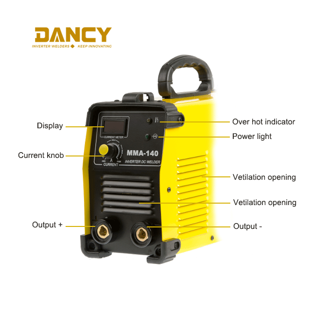 zx7-140 inverter dc arc welder