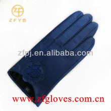 Navy Mode Ziegenhaut Handschuh
