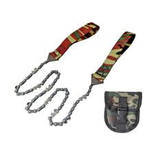 Motosierra de mano camuflaje supervivencia Pocket con la bolsa