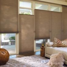cortinas celulares plisadas de fábrica y persianas de panal
