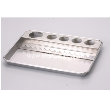 Stainless  Steel  Treatment Hospitality  Tray In different sizes (No Bottle )