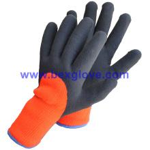 Doublure en acrylique à 7 épaisseurs, extrait en gros et en brossé, revêtement latex, 3/4, gants de sécurité à finition sablonneuse