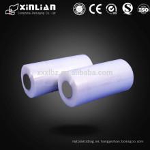 Embalaje de alimentos película de rollo de plástico / rollo de película de plástico / película de embalaje