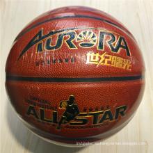 Baloncesto Personalizado-Resisting Qualit barato 8pieces 4 # 5 # 6 # 7 # PU Baloncesto