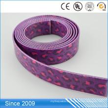 Hochwertiges PVC-beschichtetes recyceltes gewebtes Gurtband für Haustierkragen