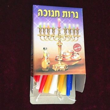 Partihandel Bulk Multicolor Hanukkah Candles