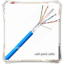 Blast blindé CAT6 FTP CMR Riser Câble Ethernet à réseau nominal STP 1000FT - Gris