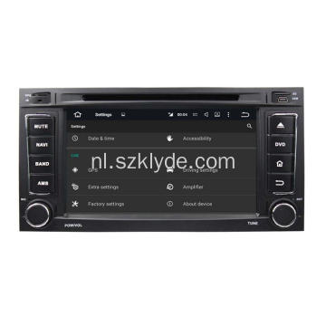 Android auto stereo accessoires voor TOUAREG