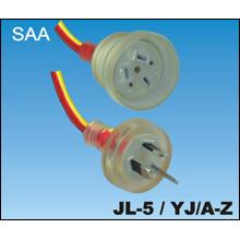 Cables de alimentación de PVC SAA australiana