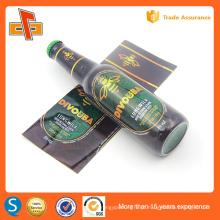 Etiquetas plásticas do encolhimento do pvc da impressão 30u para o pacote da garrafa