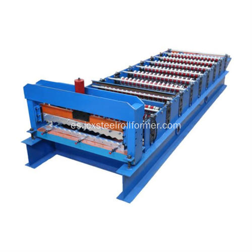 1064 Profile Corrugated Sheet Roll Forming Machine