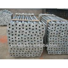 Железная сталь длина опорной трубы 2.2-3.9 м для продажи