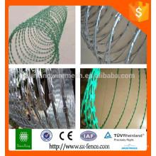 Herstellung von Stacheldraht zum Verkauf / verzinkt Stacheldraht / PVC beschichtet Stacheldraht