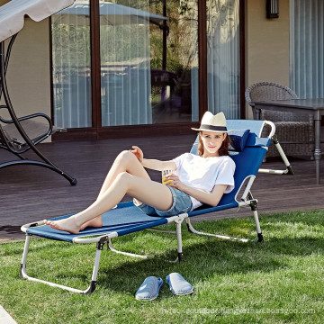 Adult folding chairs beach chairs portable camping bed for outdoor CR-0113