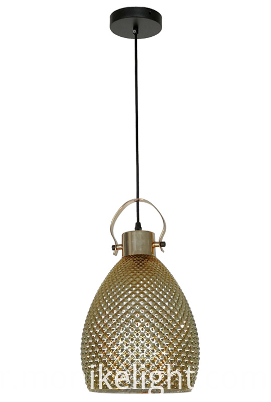Gold Modern Pendant Light