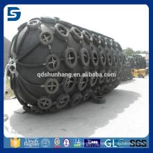 inflatable floating rubber yokohama type marine fender system