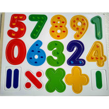 Wooden Educational Fridge Magnet Letters