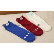 Factory Supply Customized Baby Kids Children Cotton Polyester Cartoon Socks