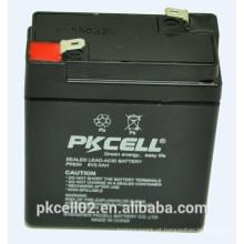 Bateria de chumbo-ácido selada 6V 2.0Ah para UPS, AGM, back-up de energia e outros equipamentos de iluminação