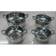 8 PCS Apple Shape Pot
