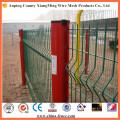 Fer clôturant le jardin en métal de sécurité de clôture clôturant les portes de clôture en métal
