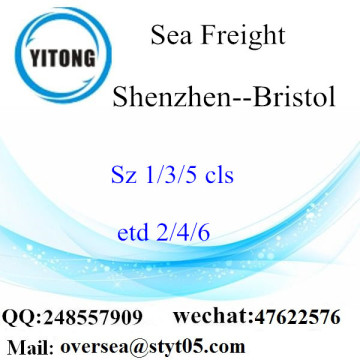 Shenzhen Port LCL Consolidation To Bristol