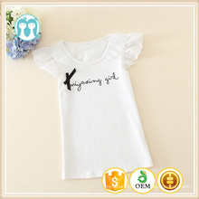 O Neck Children Casual Wear Baby Clothes T-shirt For Kids