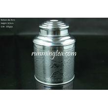 Tin Canister, 100g Tea Capacity( (Super airtight, thick tin material)