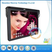 top de 19 polegadas LCD HD publicidade ônibus jogador de montagem