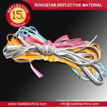 Pure polyester reflective piping for sports suits