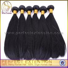 Jungfrau-peruanische haarfreie Webarthaare verpackt, Produkt des menschlichen Haares